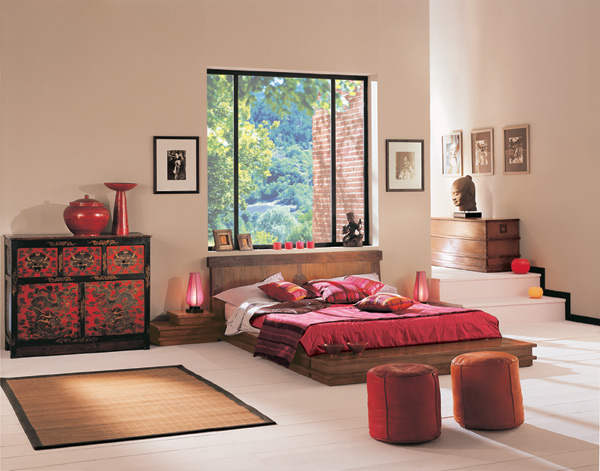 asian style design your sweet home. Black Bedroom Furniture Sets. Home Design Ideas